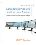Spreadsheet Modeling & Decision Analysis + Mindtap Business Statistics, 1-term - 6 Months Access Card