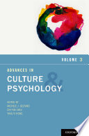 Advances in Culture and Psychology