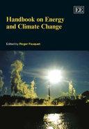 Handbook on Energy and Climate Change