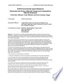 Deschutes and Ochoco National Forests  N F   and Crooked River National Grassland  Invasive Plant Treatments  Deschutes  Jefferson  Crook  Wheeler  and Grant Counties