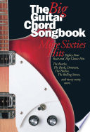 Big Guitar Chord Songbook More 60 s Hits