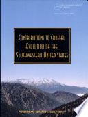 Contributions to Crustal Evolution of the Southwestern United States