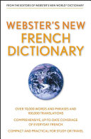 Webster s New French Dictionary  Custom