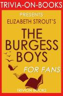 The Burgess Boys: A Novel By Elizabeth Strout ...
