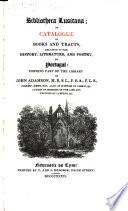 Bibliotheca lusitana