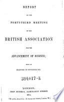 Forty Third Meeting   Held At Bradford In September 1873