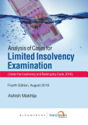 Analysis of Cases for Limited Insolvency Examination