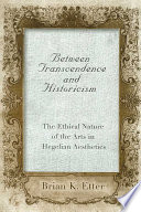 Between Transcendence and Historicism