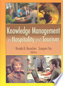 Knowledge Management in Hospitality and Tourism Book