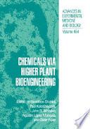 Chemicals Via Higher Plant Bioengineering Book PDF
