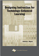 Designing Instruction for Technology Enhanced Learning