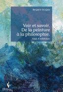 Pdf Voir et savoir. De la peinture à la philosophie. Telecharger