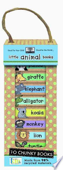 Green Start Book Towers: Little Animal Books