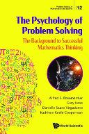 Psychology Of Problem Solving, The: The Background To Successful Mathematics Thinking Pdf/ePub eBook