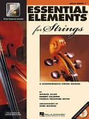 Essential Elements 2000 for Strings Book