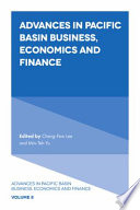 Advances in Pacific Basin Business  Economics and Finance