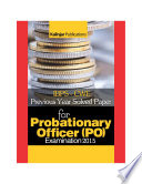 IBPS PO Examination Solved Papers