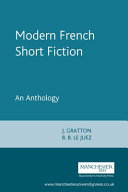 Modern French Short Fiction
