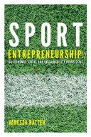 Pdf Sport Entrepreneurship Telecharger