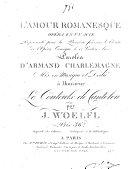 L' amour romanesque ebook