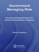 Government Managing Risk: Income Contingent Loans for Social ...