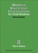 Modern Electrical Installation for Craft Students Pdf/ePub eBook