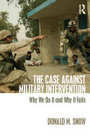 The Case Against Military Intervention