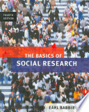 """""""The Basics of Social Research"""" by Earl Babbie"""