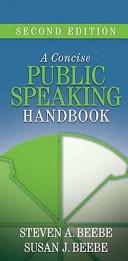 Concise Public Speaking Handbook   Myspeechlab Coursecompass   Student Access