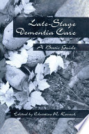 Late Stage Dementia Care