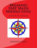 Breaking SSAT Math Middle Level