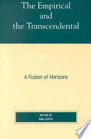 The Empirical and the Transcendental Book