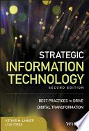 Strategic Information Technology Book