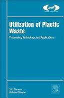 Utilization of Plastic Waste