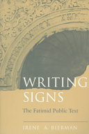 Writing Signs