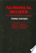Numerical Recipes 3rd Edition