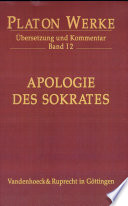 Cover image of Apologie des Sokrates