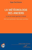 Pdf La météorologie des Anciens Telecharger