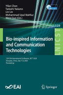 Bio inspired Information and Communication Technologies Book
