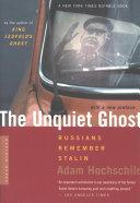 Pdf The Unquiet Ghost
