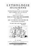 Lythologie Sicilienne