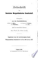 Wissenschaftlicher Jahresbericht über die Morgenländischen Studien, 1859 bis [1881]...