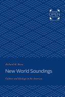 Pdf New World Soundings Telecharger