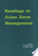 Readings in Asian Farm Management Book