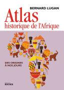 Pdf Atlas historique de l'Afrique Telecharger