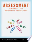 """Assessment: In Special and Inclusive Education"" by John Salvia, James Ysseldyke, Sara Witmer"