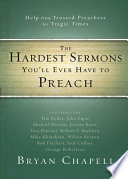 The Hardest Sermons You ll Ever Have to Preach Book
