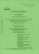 California Court Of Appeal 4th Appellate District Division 2 Records And Briefs