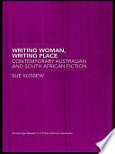 Writing Woman Writing Place