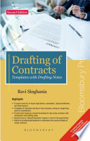 Drafting of Contracts     Templates with Drafting Notes